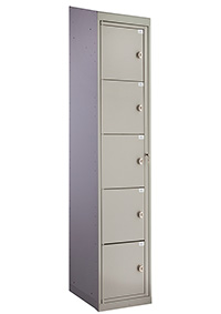 Garment Locker Five Compartment