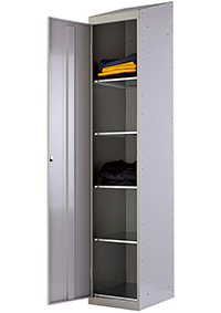 Garment Locker Single Door