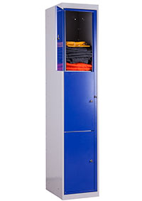 Garment Locker Three Compartment