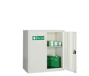 Small Double Door First Aid Cabinet