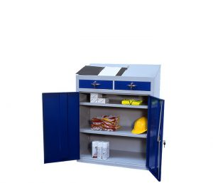 Multipurpose Cabinets Workstation Double Drawer