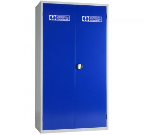 PPE Large Double Door Storage Cabinet