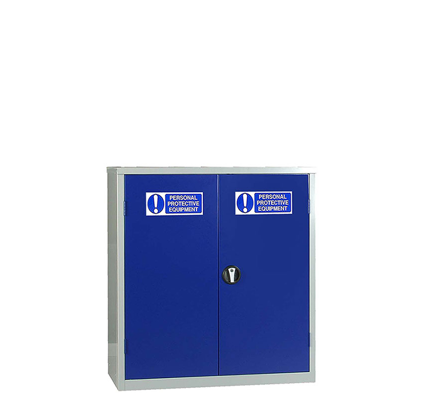 PPE Small Double Door Storage Cabinet