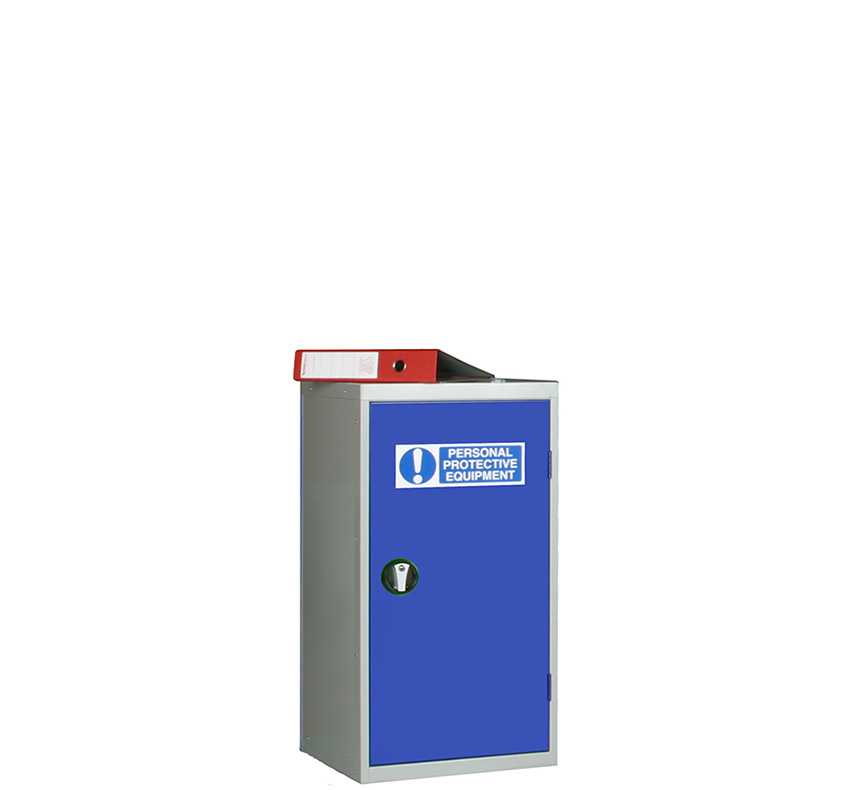 PPE Small Single Door Storage Cabinet