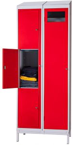 Garment Collector (shown with Three Compartment Garment Locker)