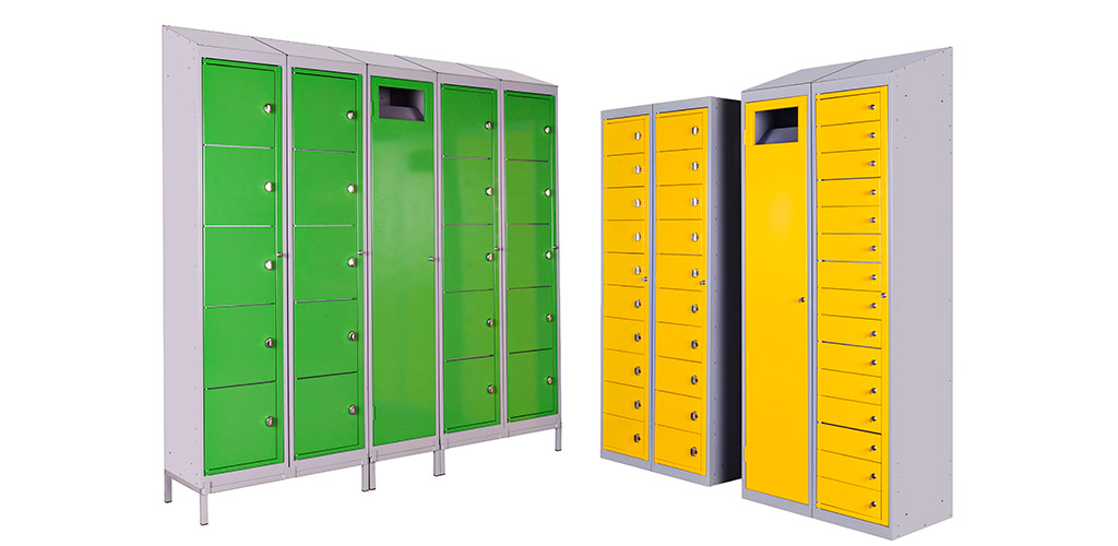 home-lockers-green-yellow
