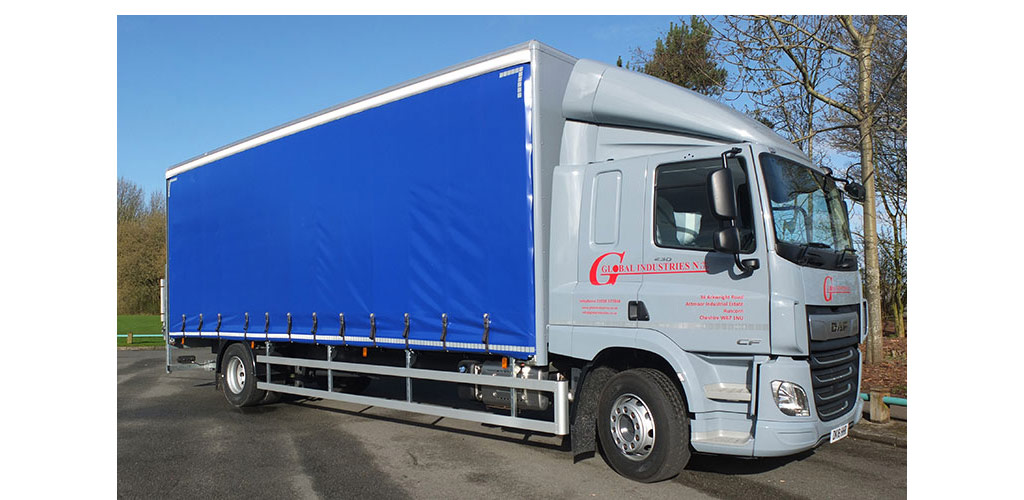 Global Industries Delivery Lorry