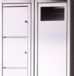 Stainless Steel Garment Locker and Collector