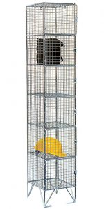 Mesh Locker Six Door