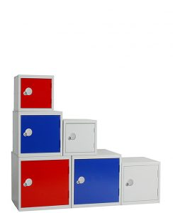 Cube Lockers Selection of Six